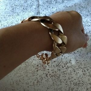 CHANEL Jewelry - Chanel Curb Link Chain Bracelet -Authentic
